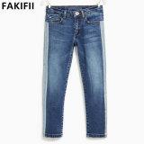 Nouveau design d'usine Kids/bébé/bébé fille denim jeans de marque d'usure
