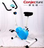 Amaestrador de interior de la bicicleta del ejercicio físico del amaestrador del ejercicio de la bicicleta en forma de corazón de la aptitud