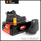 945 vorbildlicher Knöchel-Leder-Sicherheits-Schuh der Serien-PU/PU Outsole (SN5481)
