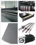 Feuille en bois/en verre/acrylique gravent l'imprimante à plat UV
