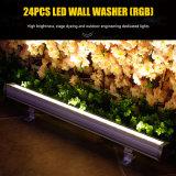 24PCS*3W LEDの壁の洗濯機の防水段階の照明