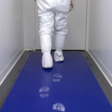 PEの粘着マット、クリーンルームのマット、粘着性のマット、透過クリーンルームの粘着マット