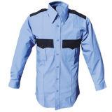Personnaliser les chemises 100% de garde de sécurité de coton