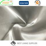 Seidiges und glänzendes Torsion-Satin-Futter-Gewebe des Polyester-100