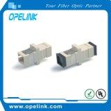 Palavra simples do adaptador da fibra óptica Sc-Sc