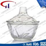 230ml bol en verre gravé pour les bonbons (CHM8444)