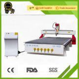 インドのエージェントの価格の正方形の管の旋盤のベッドの木工業の彫版CNC Rouer機械