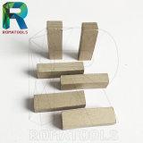 Segmentos del diamante de las láminas de 1200m m para el corte por bloques de piedra del mármol del granito