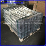 Spitzer geschmiedeter galvanisierter Stahlpfosten-Anker mit Abstand (71X71X750mm)