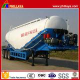 수용량 3 차축 대량 시멘트 유조선 트레일러를 반 변화한다