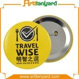 Abnehmer-Entwurfs-Tasten-Abzeichen mit Drucken-Firmenzeichen