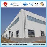 Costruzione prefabbricata del magazzino della struttura del blocco per grafici d'acciaio di basso costo