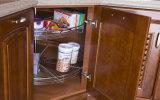 Кухонный шкаф кухни твердой древесины (zq-001)