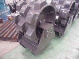 掘削機のコンパクターの車輪