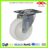 """8 """" Wiel van de Bever van de Wartel het Witte Plastic Industriële (P101-30D200X50)"""