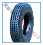 Circunferential Pattern Pneumatic Rubber Wheel Autocycle Tire