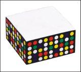 400 folhas de papel Memo Cube