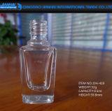 Bottiglia di vetro del polacco di chiodo di trucco della cristalleria di alta qualità