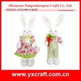 イースター装飾(ZY13L948-1-2)のイースターのウサギのひよこの天使のクラフトのイースター袋によって詰められる項目装飾