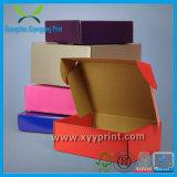 Rectángulo acanalado del papel de encargo de la promoción con la venta al por mayor de la impresión