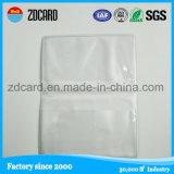 preço de fábrica transparente/ID da Luva de cartão de crédito com o Design Personalizado