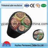 Base de cobre aislada PVC permanente 16m m de la base 3 del conductor 2 de la marca de fábrica 1kv de Huzhou precio acorazado del cable de 4 bases