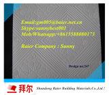 Papier façonné (plâtre) / Panneau de gypse laminé PVC / plafond plafonnier