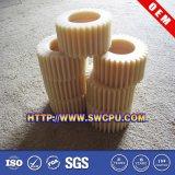 Engrenagem plástica por usinagem CNC