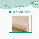 Rpg-145 papel de parede de papel sintético PP Raw Material for Rotogravure Printable