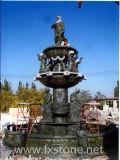 Im Freien Steinwasser-Brunnen für Garten-Dekoration