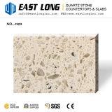 Piedra artificial del cuarzo de Colo espejo barato de la alta calidad del solo
