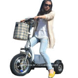 2018 رخيصة طي ثلاثة عجلات كهربائيّة [سكوتر] درّاجة ثلاثية مع [س]