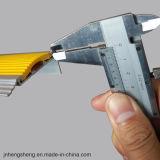 Tuyauterie d'aluminium en aluminium à base de carborundum souple et flexible