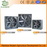 La serre chaude/volaille renferment le ventilateur axial de circulation d'air