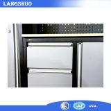 Gabinete de cozinha do projeto moderno do fornecedor de China com gavetas