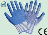 U3 Natrile gant enduit de protection du travail des gants de travail (N7006)