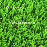 40 millimètres de jardin de loisirs d'herbe de aménagement à haute densité d'article truqué (SUNQ-AL00083)