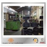 Type sans chambre pneu en caoutchouc de capsule de moto de pneu corrigeant la presse avec le GV d'OIN BV