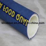 Tuyau flexible standard en caoutchouc de catégorie comestible de tresse de fil de manie