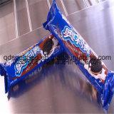 sur l'emballage de biscuits de bord