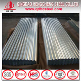Prix ondulé de tôle d'acier en métal de toiture de Zincalume