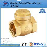заводская цена Dn15-DN100 высокого качества латунный обратный клапан пружины с помощью латунной Core