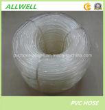 PVC transparent en plastique flexible au niveau du tube de l'eau