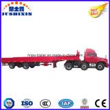 Semi Aanhangwagen van de Lading van de Omheining van 3 Assen van Jushixin van de fabrikant Best-Selling