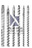 Parafuso da extrusora para a máquina do PVC