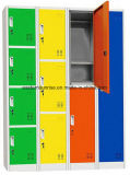 De Garderobe van het Ontwerp van het staal/van het Metaal/van het Ijzer voor Bureau/Slaapkamer/Gymnastiek/Personeel