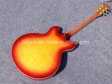 Cherryburst 반 빈 바디 재즈 335 일렉트릭 기타