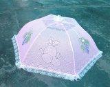 Dome et le parasol coloré couvercle Mesh nourriture matérielle