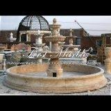 De antieke Fontein van de Travertijn voor een Gift mf-833