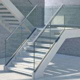 يبيطر يتيح أن يركّب [تووغند] زجاجيّة درابزون تصميم/ألومنيوم قاعدة [أو] قناة درابزين زجاجيّة